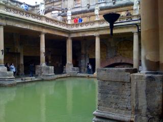 Roman Bath: Bath, UK
